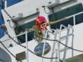 お正月飾りの実例(船舶)