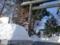平成28年12月下旬 西野神社鳥居