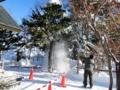 平成28年12月下旬 西野神社境内除雪