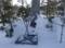 平成28年12月下旬 西野神社境内の篝火準備