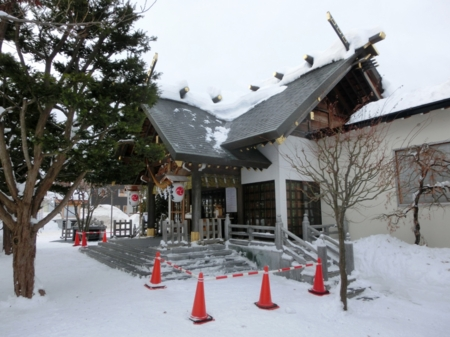 平成28年12月下旬 西野神社境内