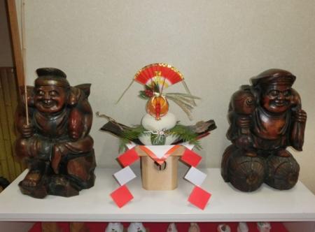 平成28年12月下旬 西野神社鏡餅