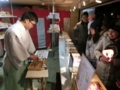 平成29年元旦の西野神社(みくじ所)
