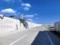 釜石市港町の直立型防潮堤