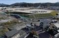 盛り土エリアが広がる岩手県山田町の中心部