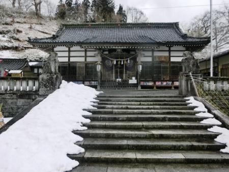遠野市に鎮座する南部神社