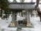 西野神社 手水舎(平成29年3月末日)