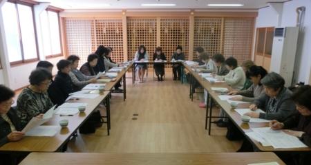 平成29年4月 西野神社敬神婦人会 総会