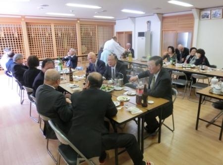 平成29年4月 西野神社 春季例祭直会
