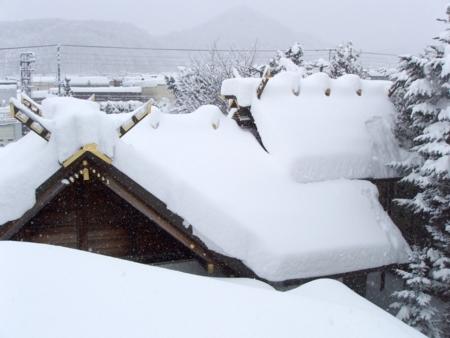 札幌・西野神社の雪景色