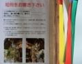 西野神社 七夕の短冊