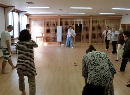 平成29年 西野神社 禊祓行事(練習)