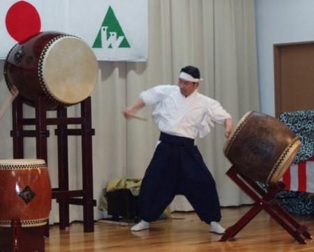 西野神社 松澤権禰宜(神おん太鼓)