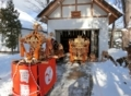 西野神社 煤払い(平成29年12月)