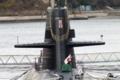 お正月飾りの実例(潜水艦)