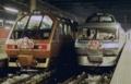 お正月飾りの実例(鉄道車両)