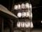 平成29年末の西野神社(奉納提灯)