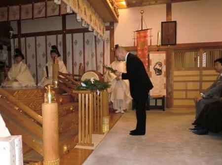 平成30年1月 西野神社 歳旦祭