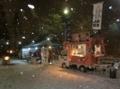 平成30年 西野神社正月(元日の第一駐車場)