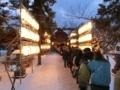 平成30年 西野神社正月(参道)