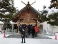 平成30年 西野神社 どんど焼きの日の境内