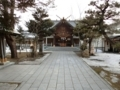 平成30年3月下旬の西野神社境内の様子