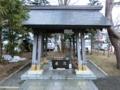 西野神社 手水舎(平成30年3月下旬)