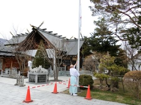 平成30年4月25日 西野神社境内