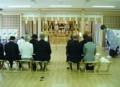 西野神社の参集殿・祖霊殿で斎行される霊祭