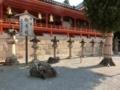 石清水八幡宮 石灯籠