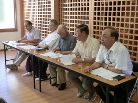 平成30年7月 西野神社総代会と崇敬4団体による合同会議