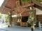西野神社 拝殿(七夕仕様)