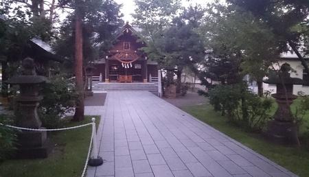 平成30年9月6日 早朝の西野神社
