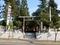 平成30年 秋まつり当日早朝の西野神社