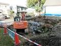 平成30年9~10月 西野神社神楽殿 解体工事