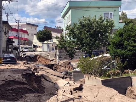 平成30年北海道胆振東部地震の被害