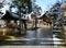 平成30年11月、初雪が降った西野神社境内
