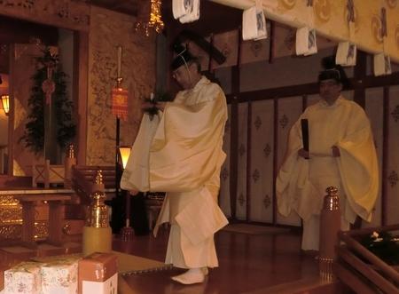 平成29年 西野神社 除夜祭