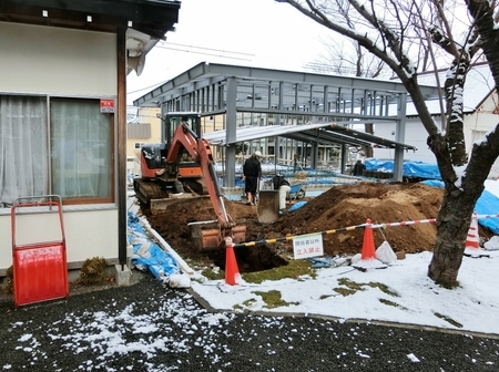 平成30年 西野神社儀式殿基礎工事