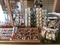 平成30年12月現在、西野神社授与所の窓口に並べられている授与品