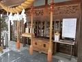 西野神社の拝殿向拝