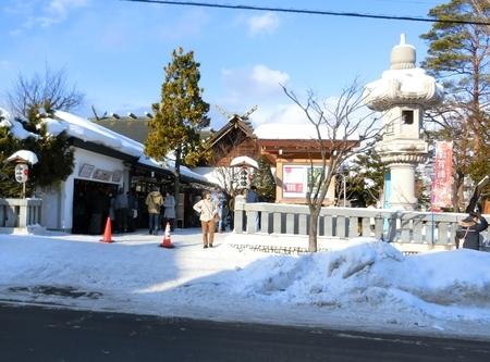 平成31年 西野神社 三が日の境内