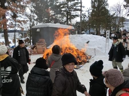 平成31年 西野神社 どんど焼き