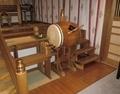 西野神社拝殿の旧太鼓
