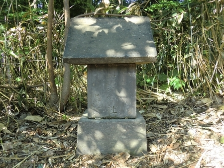 西野神社遙拝所としての機能を持っていた祠
