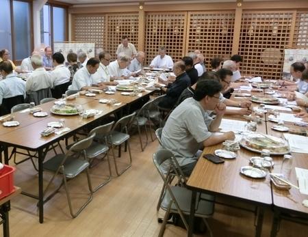 令和元年 西野神社秋まつりに向けての合同会議