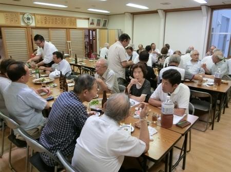 令和元年 西野神社秋まつりに向けての合同会議の後の直会