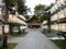 令和元年「西野神社秋まつり」の日の拝殿と参道