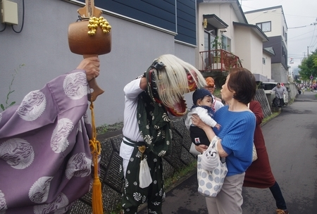 令和元年 西野神社秋まつり(お獅子)