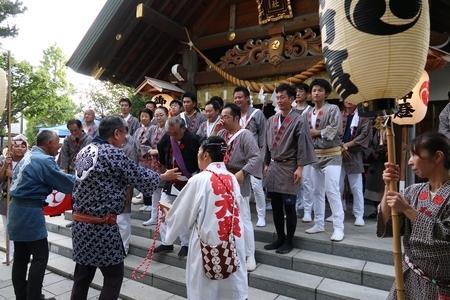 令和元年 西野神社秋まつり(宮入り)